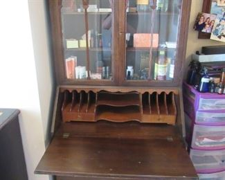 Antique Secretary with Original Key