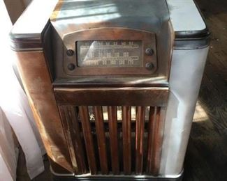 Antique Radio Untested