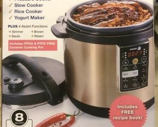 AOA008 Fagor Lux Versa 8-in-1 Multi-Cooker