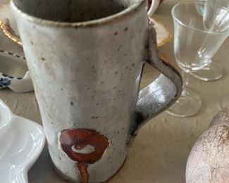 Pottery Mug $10.00