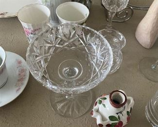 Glass Dish $5.00