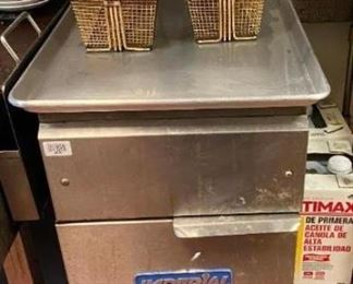 Commercial Gas Fryer Imperial Includes 2 fry baskets