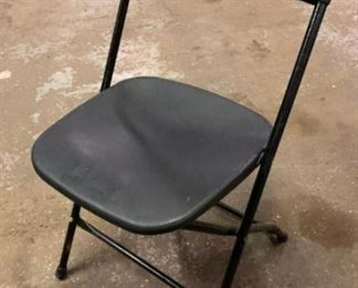 Black Samsonite Folding Chairs