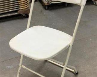 Off White Samsonite Folding Chairs