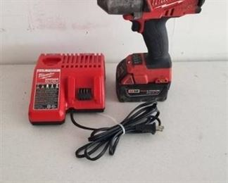 """Milwaukee M18 1/2"""" Impact w/battery and charger"""