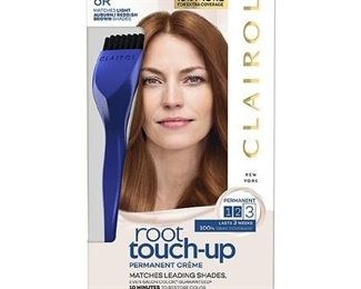 Clairol Root Touch-Up Permanent Hair Color - 6R Light Auburn Reddish Brown - 1 Kit