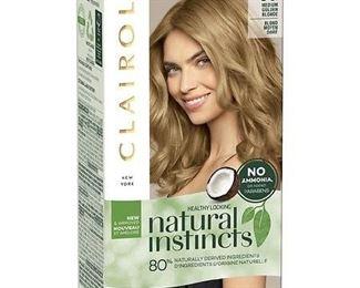 Clairol Natural Instincts Demi-Permanent Hair Color - 8G Medium Golden Blonde, Sunflower - 1 Kit