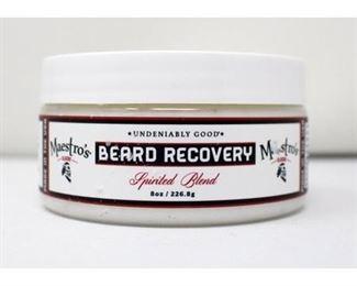 Maestro's Classic Spirited Blend Beard Recovery - 8oz