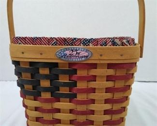 Longerberger 25th Anniversary Basket