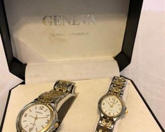 Geneva His and Hers Watches Set #1 https://ctbids.com/#!/description/share/410300