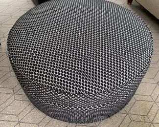 Storehouse storage ottoman in great condition. Dimensions 3' diameter.  Price $395