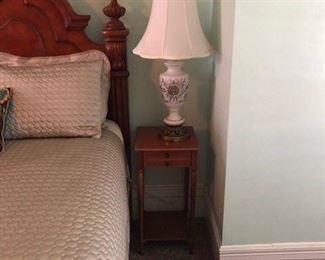 Upstairs side table