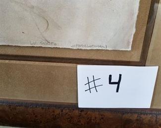 #4 ~ Signature of unknown artist  ($300)