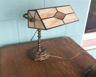 . . . a nice stained-glass desk lamp