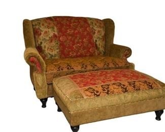 2. HAVERTYS Armchair And Ottoman