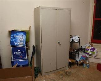 8. Two Door Metal Cabinet