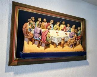 Vintage 3D Last Supper