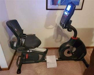 SCHWINN 270 Workout Biker. Tested and Working