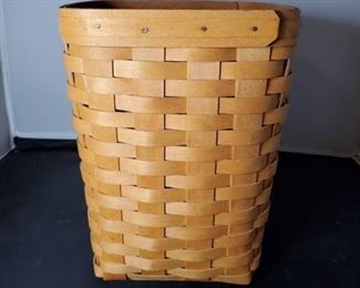 10 Inch Tall Longaberger Basket Square Planter - without Liner