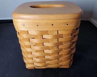 Longaberger Basket Tissue Holder 2001