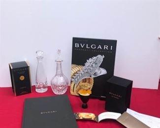 Bvlgari Perfume and Book