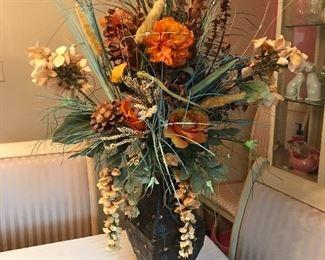 """Beautiful floral arrangement,  32""""H  $40"""