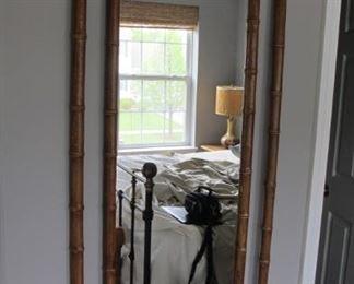 $35.00 Cane frame mirror 55x27