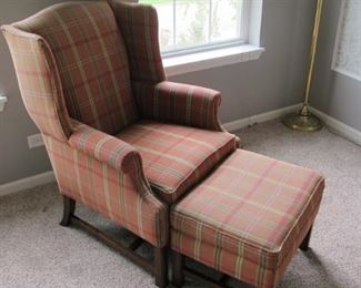 $100.00 Walter E. Smith chair & ottoman