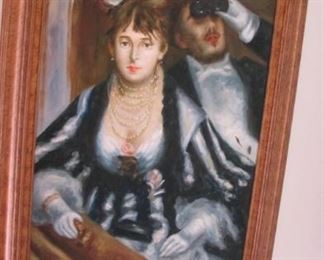 $110.00 Painted reproduction Manet 43.5 x 31.5