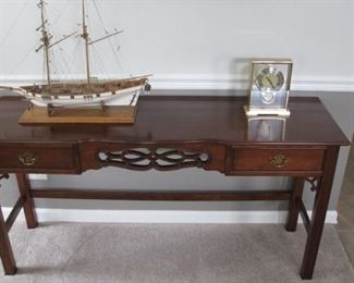 $250.00 Pennsylvania House Cherry Sofa table/writing desk 27 x 54 x 16