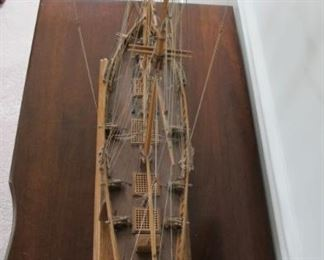 hand made clipper ship for $75.00