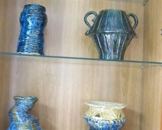 Handmade youth ceramic vases make offer