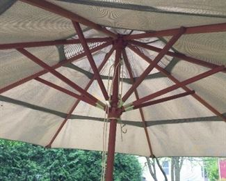 $150.00 12ft Umbrella & Stand