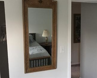 $55.00 Light brown mirror 51 x 21.5