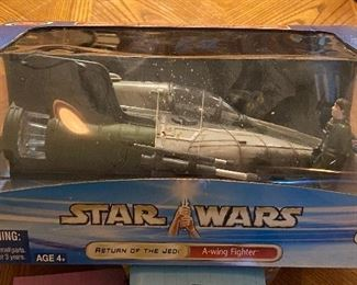 Star Wars Return of the Jedi Action Figures: A-Wing Fighter