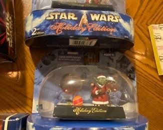 Star Wars Action Figures: Holiday Edition Yodas. $15.00 Each