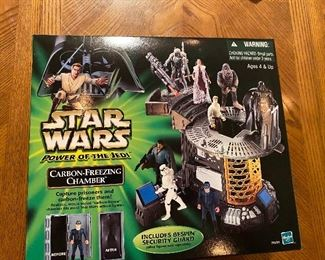 Power of the Jedi Carbon-Freezing Chamber Sealed Hasbro 2000