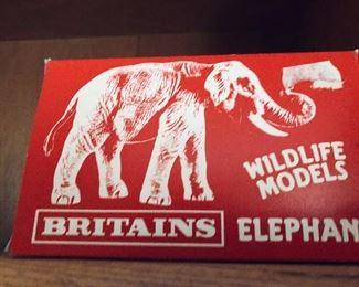 Britains Wildlife Models Elephant