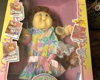 Growing Hair Cabbage Patch \
