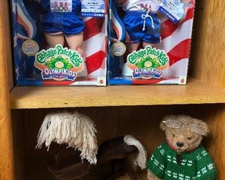 Cabbage Patch collection, rocking horse