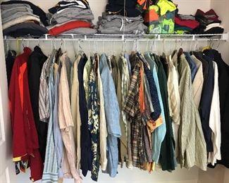 Clothing mens xxl