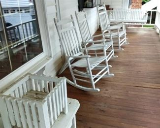 Lots Of Rocking Chairs