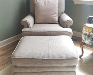 $95 Chair & Ottoman