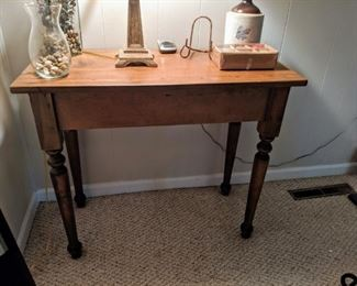 Antique Wooden Table $75