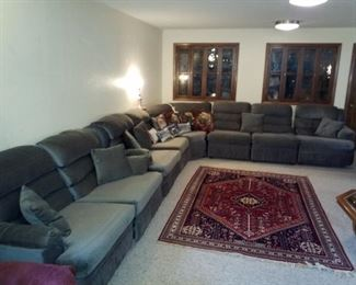 Very large sectional sofa