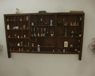 print drawer with miniatures