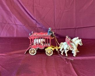 Cast Iron Circus Toy