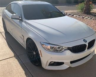 2016 BMW 428i Gran Coupe 38,900 miles  Car is in great shape loaded with extras M Sport package 2 New Back tires.