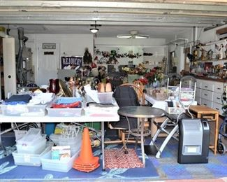 THIS GARAGE IS TOTALLY FULL OF OF WHAT YOU NEED! YOU ARE INVITED TO COME AND WE WILL HELP YOU FIND IT.