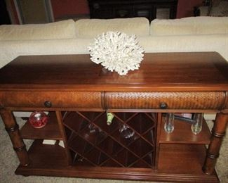 Cindy Crawford console table